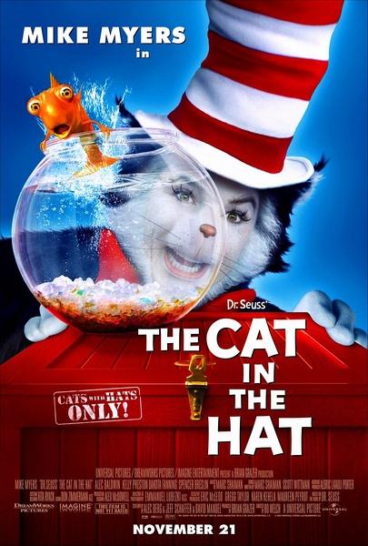 戴帽子的猫(The Cat in the Hat)